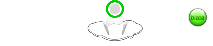 Computer sending data to Bizeo Drone Cloud then sending data to iPad